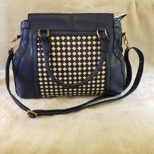 J Francis leather handbag